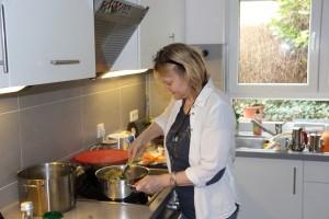 Kochen mit Knoblauch